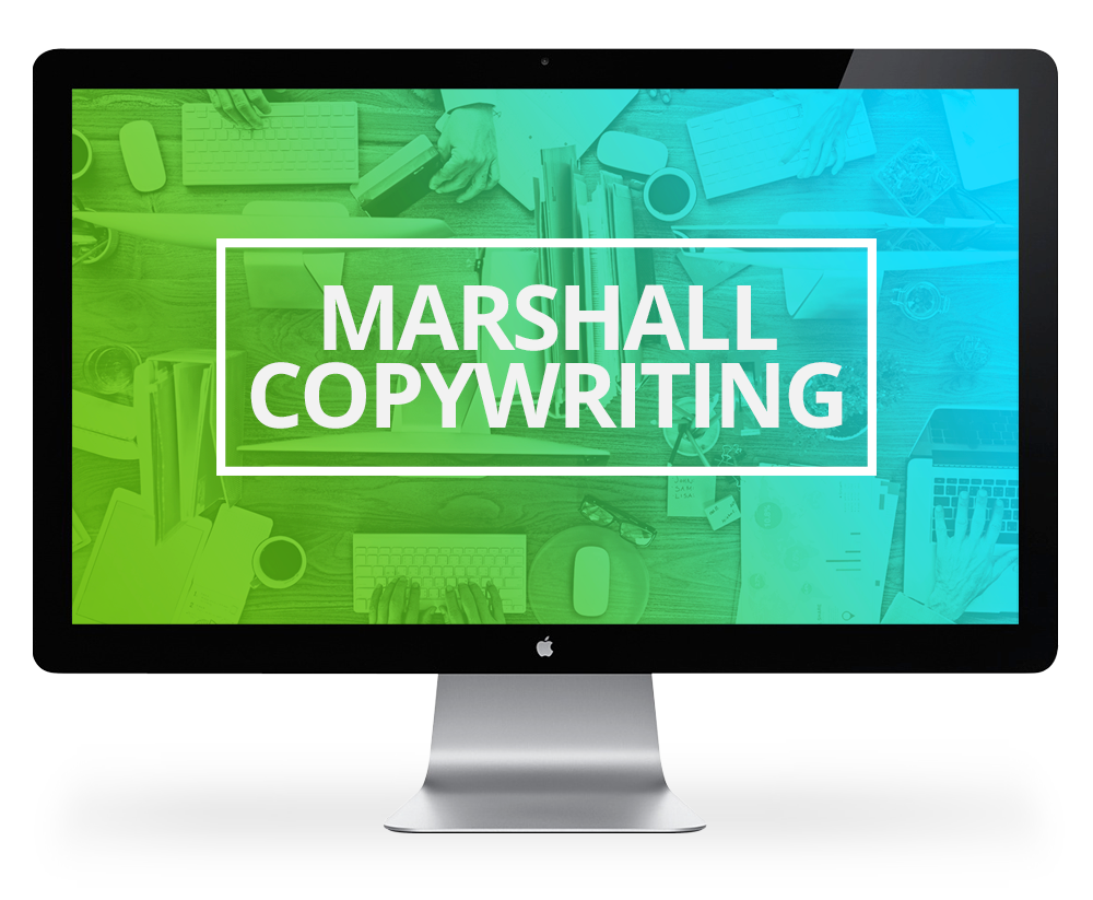Screen Marshall Copywriting