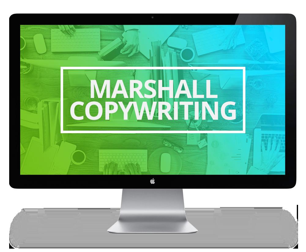 Screen Marshall Copywriting