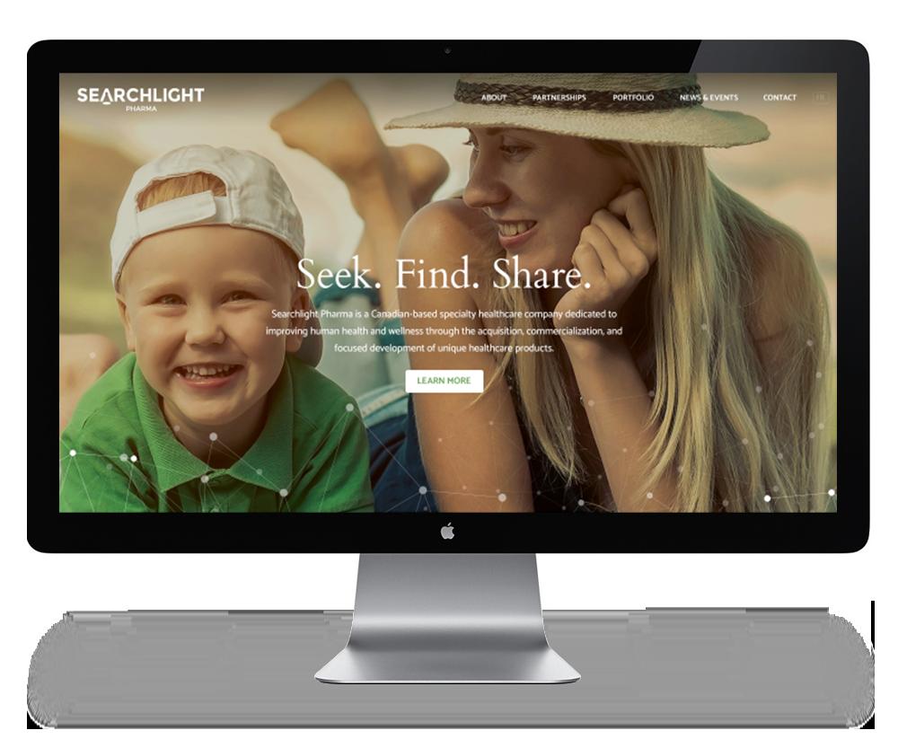 Screen SearchLight Pharma