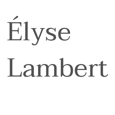Logo Elyse Lambert
