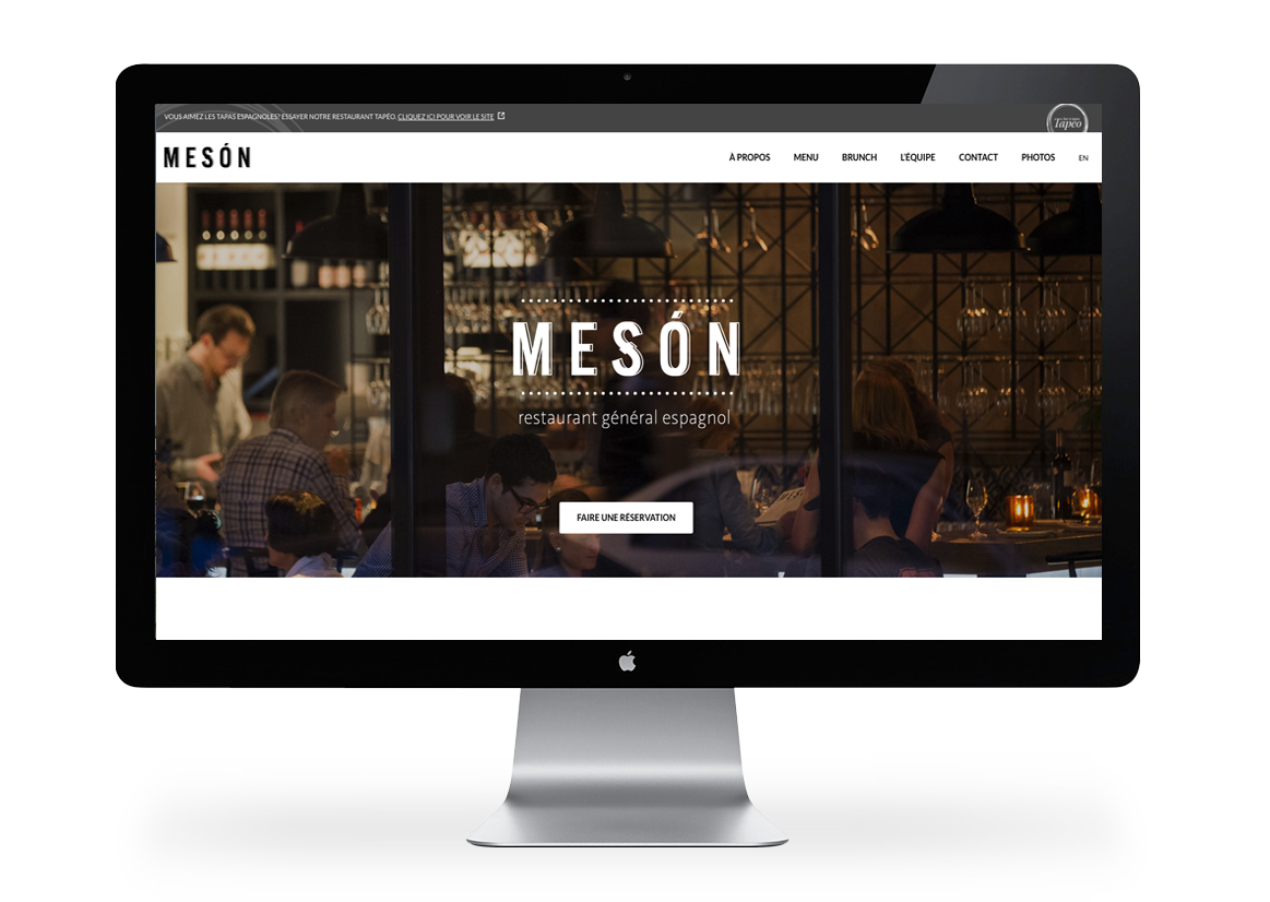 Screen Restaurant Meson